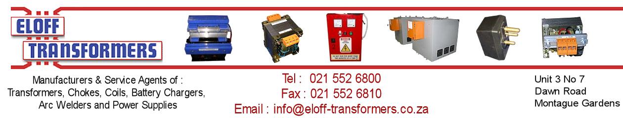 Eloff Transformers